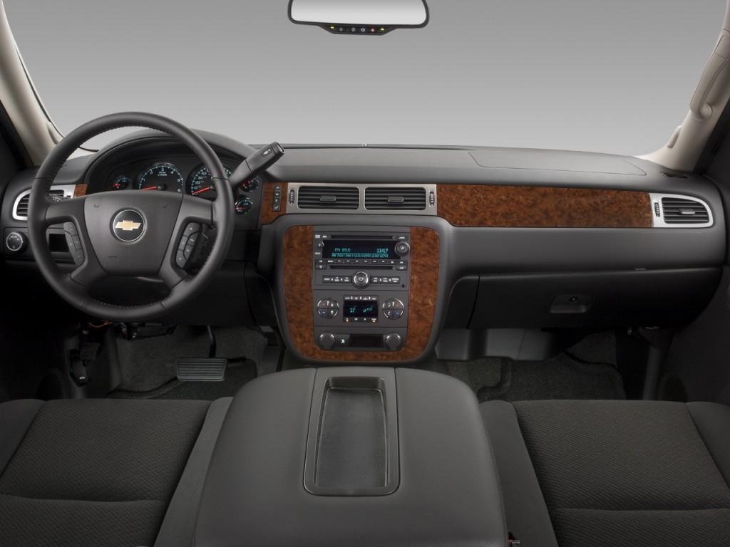 Image: 2008 Chevrolet Tahoe 2WD 4-door 1500 LT w/1LT Dashboard, size: 1024 x 768, type: gif ...