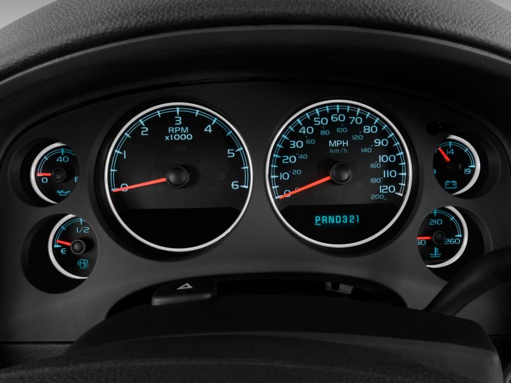 Image: 2008 Chevrolet Tahoe 2WD 4-door 1500 LTZ Instrument Cluster, size: 1024 x 768, type: gif ...