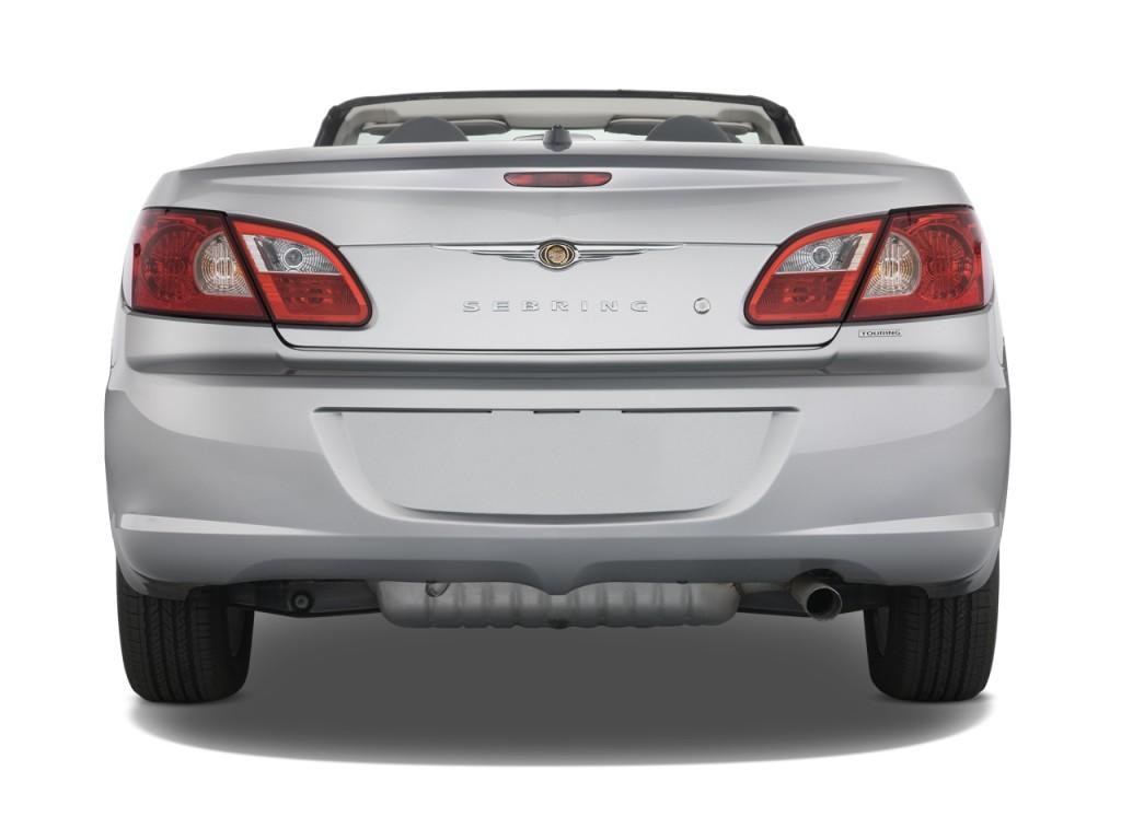 image 2008 chrysler sebring 2 door convertible touring. Black Bedroom Furniture Sets. Home Design Ideas