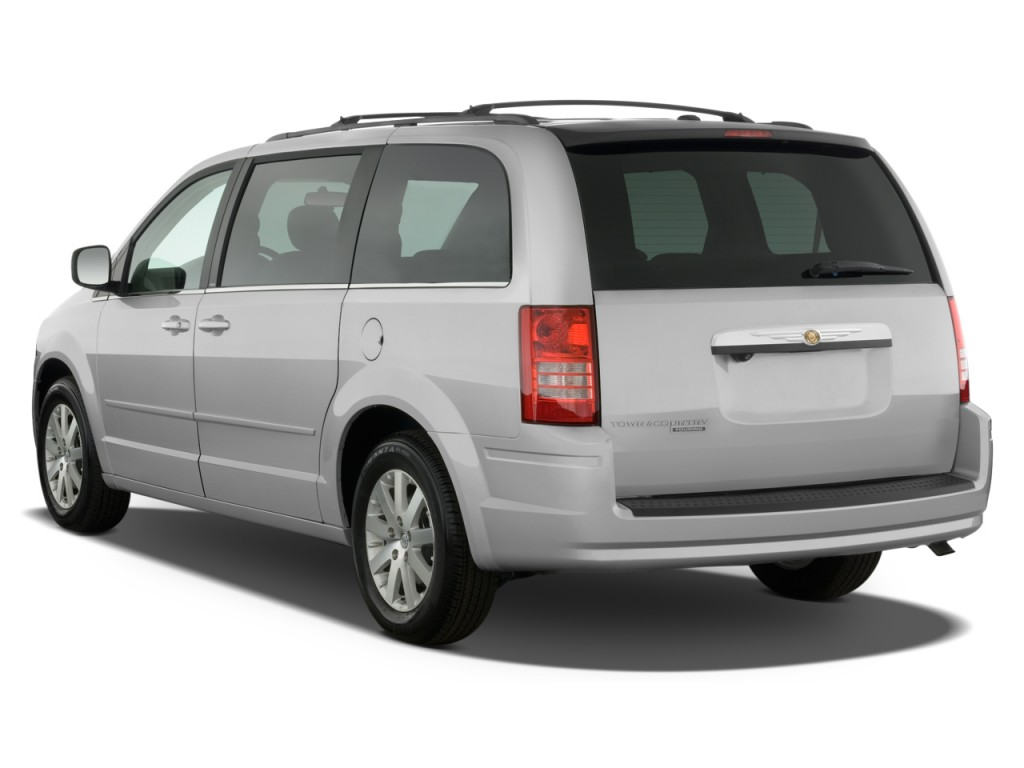 Image 2008 Chrysler Town Amp Country 4 Door Wagon Touring