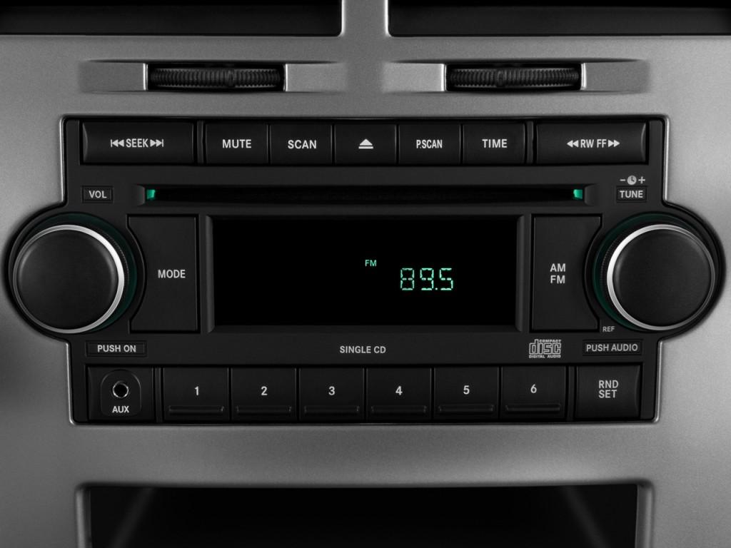 Image: 2008 Dodge Caliber 4-door HB SRT4 FWD Audio System ...