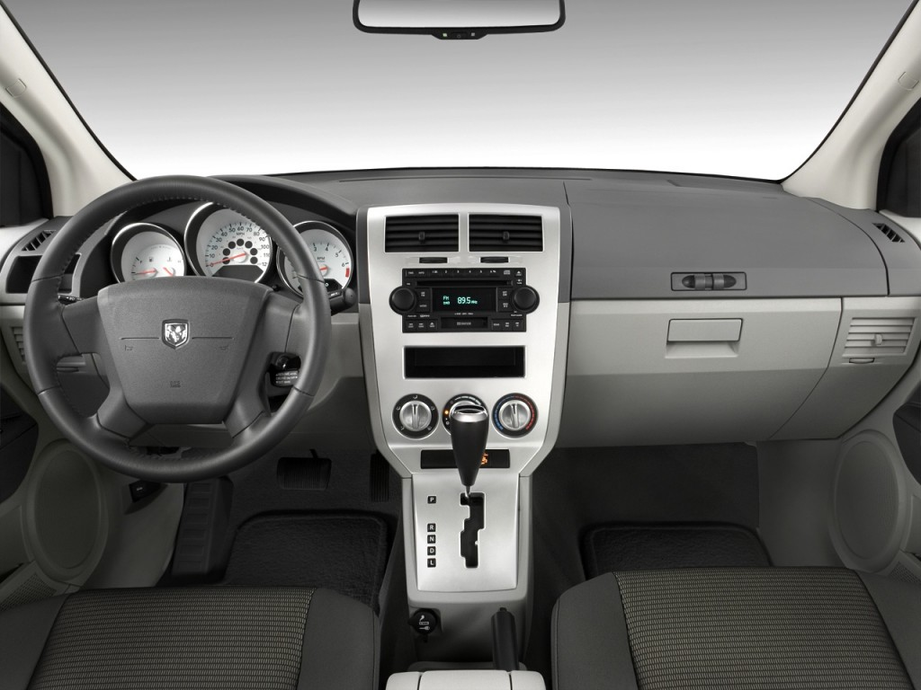 Dodge Journey Gas Mileage >> Image: 2008 Dodge Caliber 4-door HB SXT FWD Dashboard, size: 1024 x 768, type: gif, posted on ...