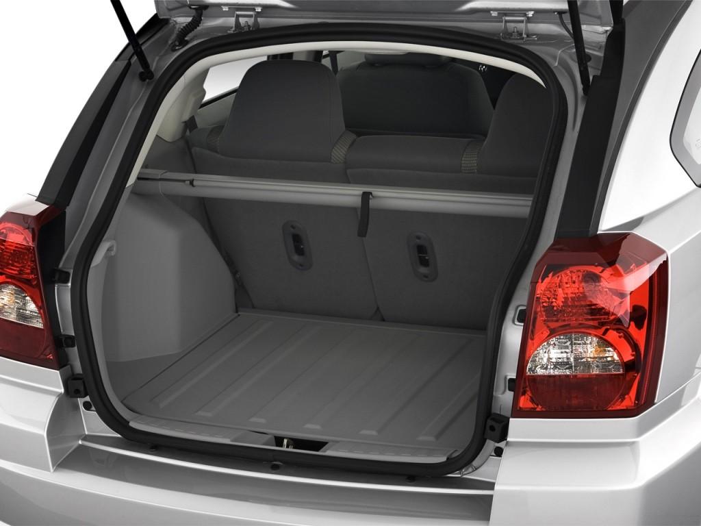 Image 2008 Dodge Caliber 4 Door Hb Sxt Fwd Trunk Size