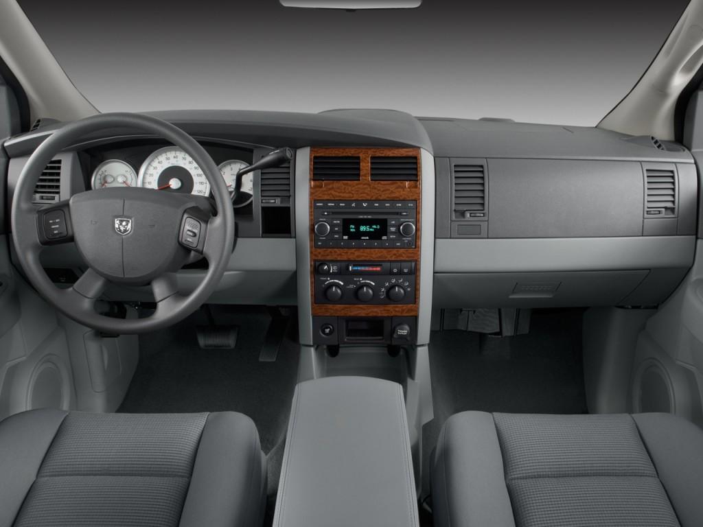 Image 2008 Dodge Durango 2wd 4 Door Slt Dashboard Size