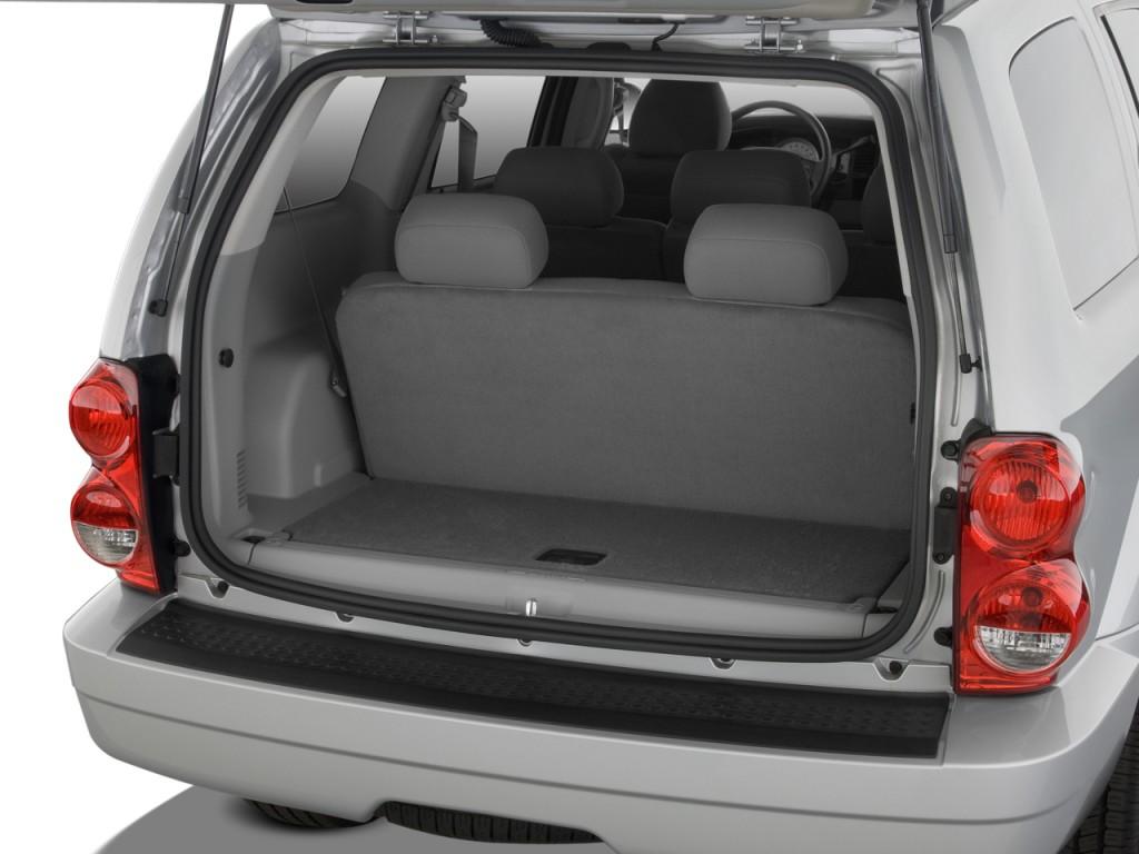 Image: 2008 Dodge Durango 2WD 4-door SLT Trunk, size: 1024 ...