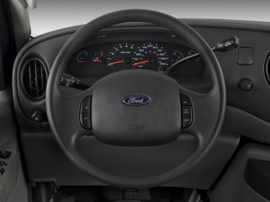 2008 ford econoline cargo van e 250 commercial steering wheel