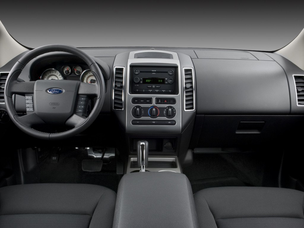 image 2008 ford edge 4 door sel fwd dashboard size 1024 x 768 type gif posted on december. Black Bedroom Furniture Sets. Home Design Ideas