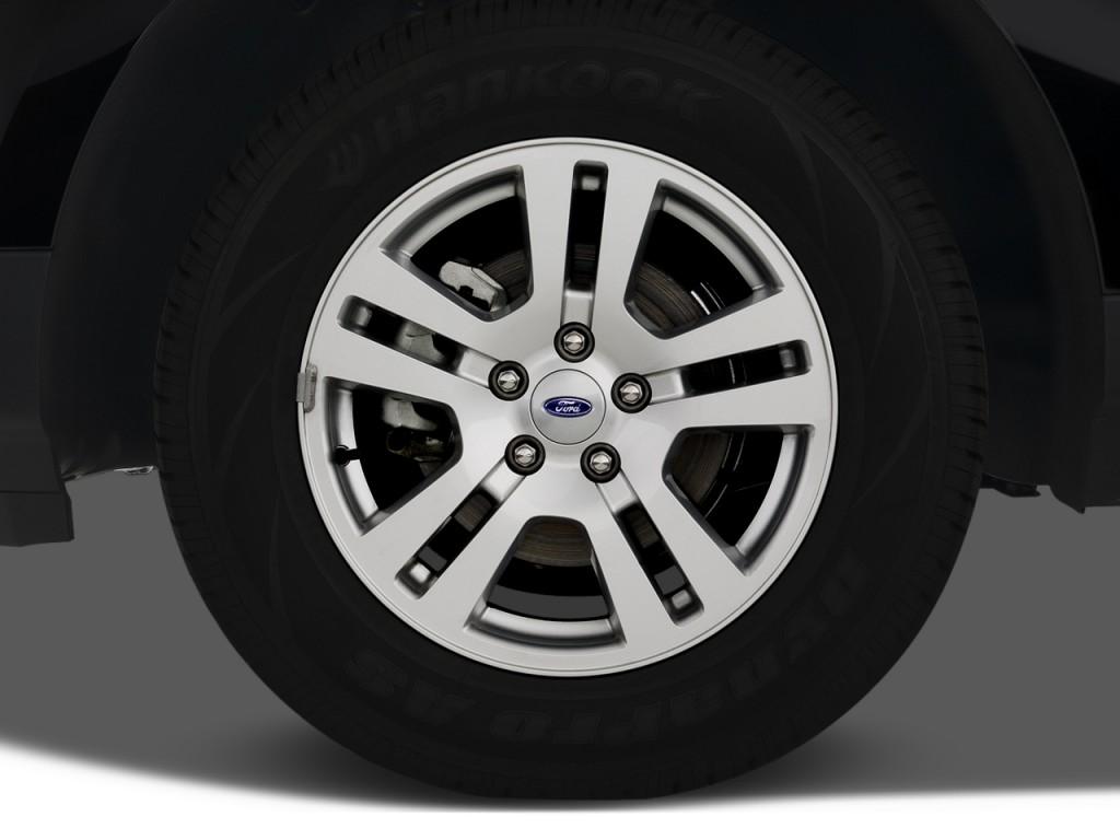 Image: 2008 Ford Edge 4-door SEL FWD Wheel Cap, size: 1024 ...