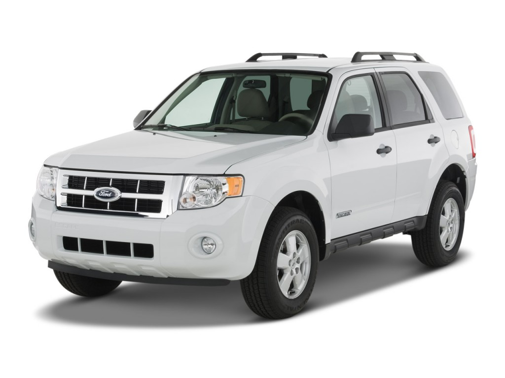 Image: 2008 Ford Escape FWD 4-door I4 Auto XLT Angular ...