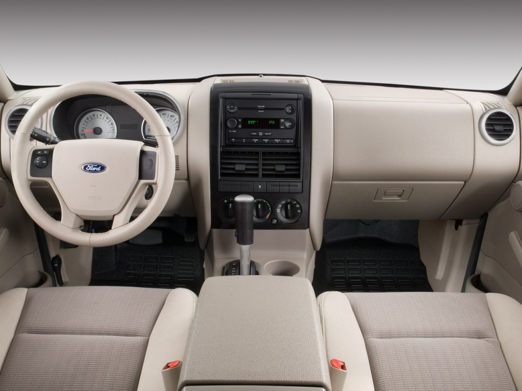 Image: 2008 Ford Explorer Sport Trac RWD 4-door V6 XLT Dashboard, size: 1024 x 768, type: gif ...