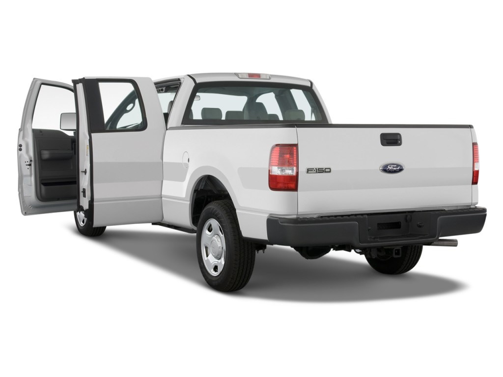 """Image: 2008 Ford F-150 2WD SuperCab 145"""" XL Open Doors ..."""