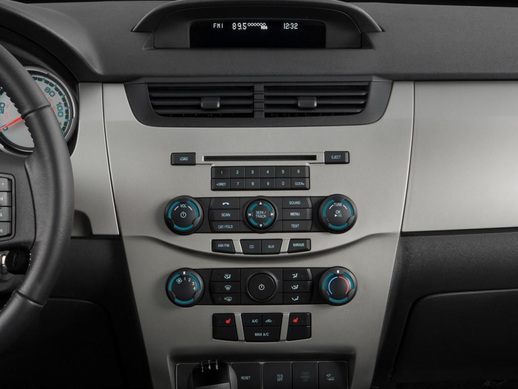 image 2008 ford focus 2 door coupe se instrument panel. Black Bedroom Furniture Sets. Home Design Ideas
