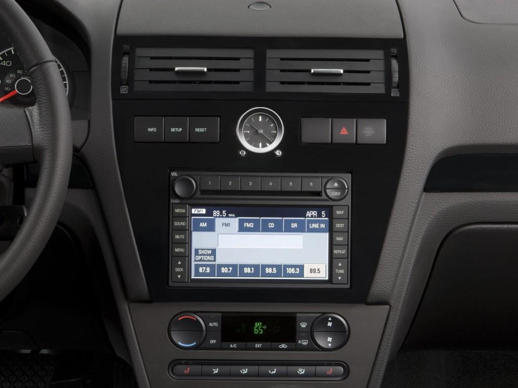 image 2008 ford fusion 4 door sedan v6 sel fwd instrument. Black Bedroom Furniture Sets. Home Design Ideas