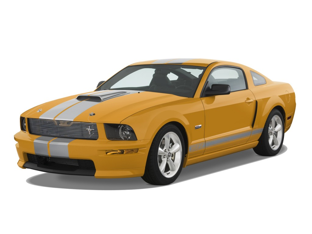 Image: 2008 Ford Mustang 2-door Coupe Shelby GT500 Angular ...