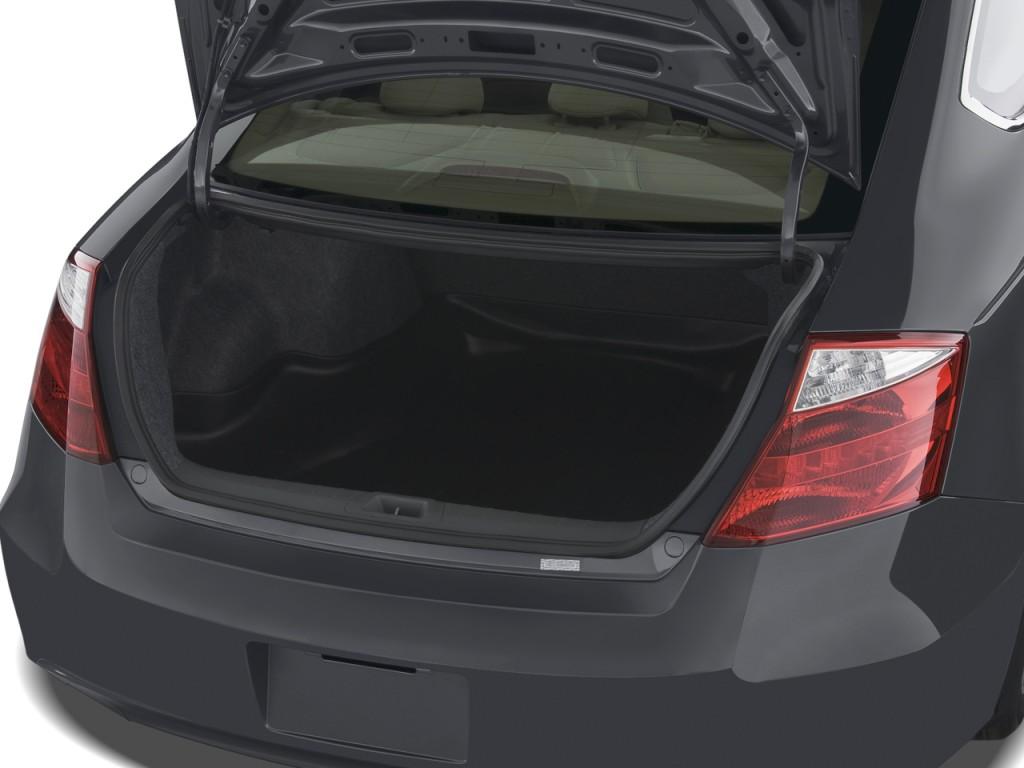 2008 Honda Accord Coupe 2 Door I4 Auto Ex L Trunk