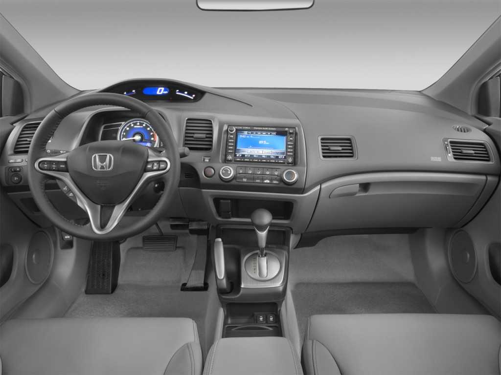 Image: 2008 Honda Civic Coupe 2-door Auto EX-L w/Navi ...