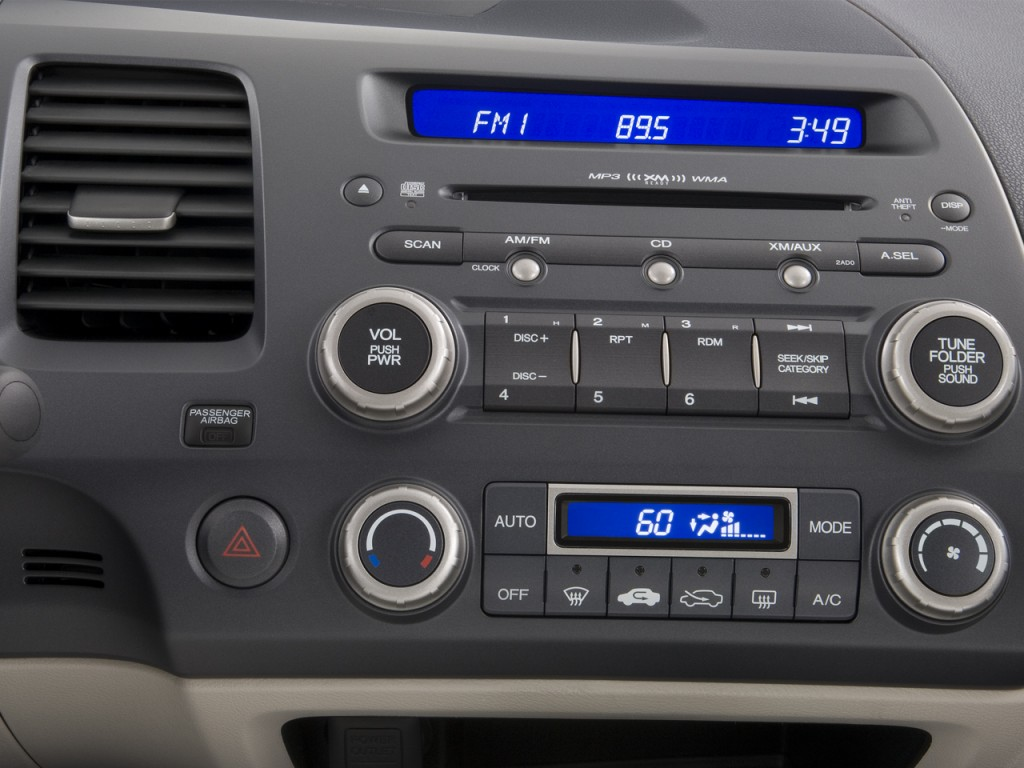 Image: 2008 Honda Civic Hybrid 4-door Sedan Instrument Panel, size: 1024 x 768, type: gif ...