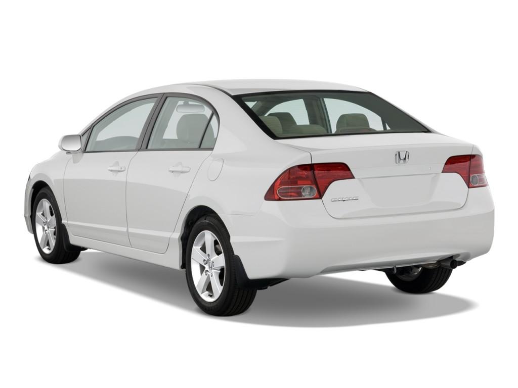 Image 2008 Honda Civic Sedan 4 Door Auto Ex Angular Rear