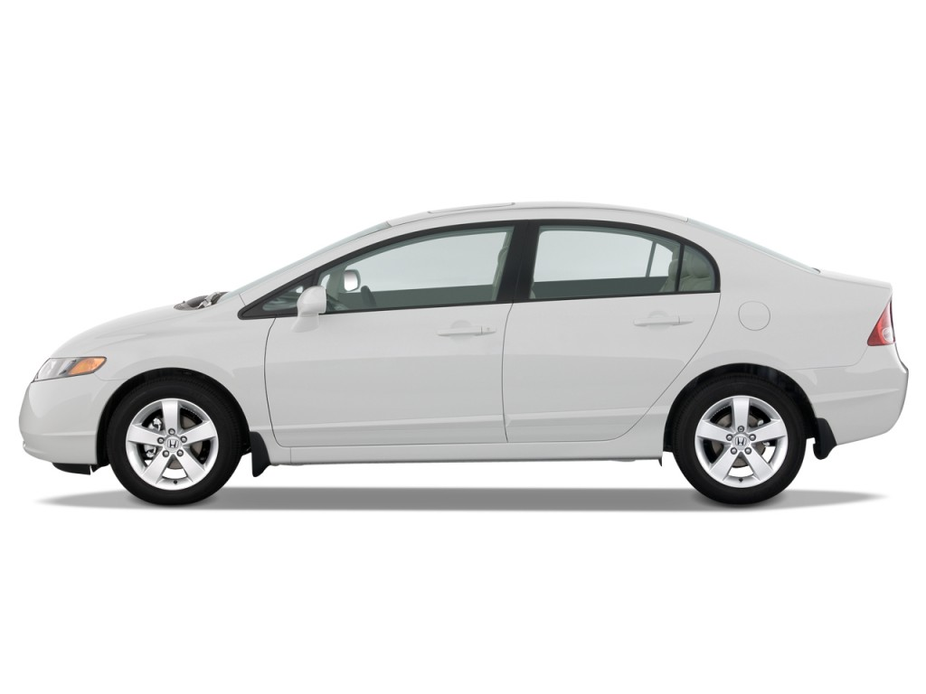 Image 2008 Honda Civic Sedan 4 Door Auto Ex Side Exterior