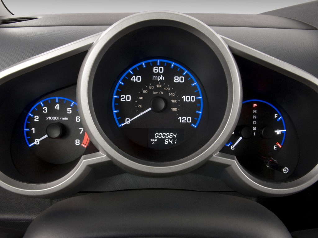 Image: 2008 Honda Element 2WD 5dr Auto LX Instrument Cluster, size: 1024 x 768, type: gif ...