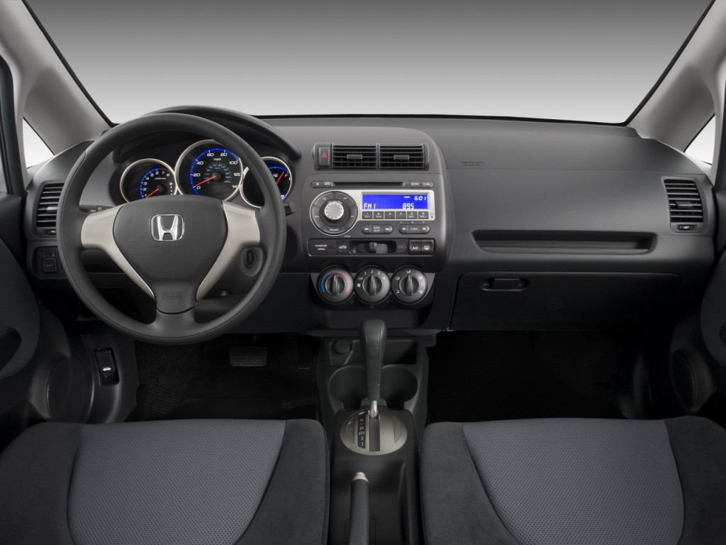 Honda Element Mpg >> Image: 2008 Honda Fit 5dr HB Auto Dashboard, size: 1024 x ...