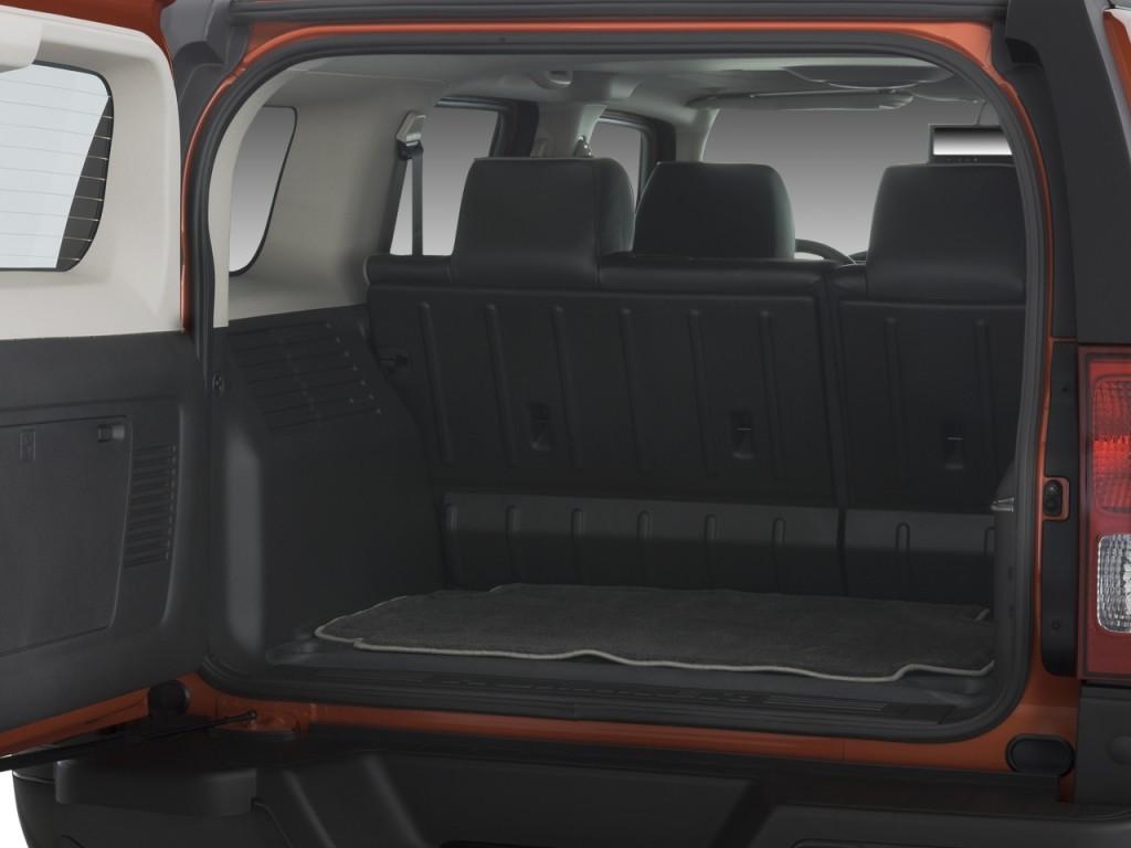 Image: 2008 HUMMER H3 4WD 4-door SUV Alpha Trunk, size ...