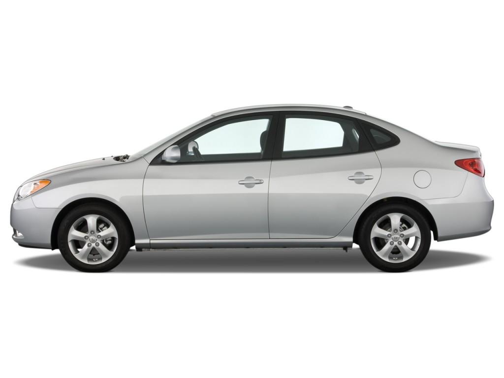 Image: 2008 Hyundai Elantra 4-door Sedan Auto SE Side Exterior View