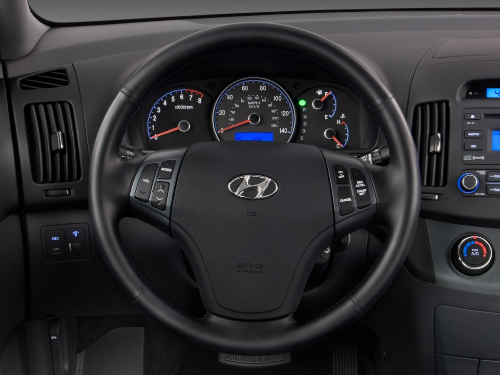 image 2008 hyundai elantra 4 door sedan auto se steering wheel size 1024 x 768 type gif. Black Bedroom Furniture Sets. Home Design Ideas