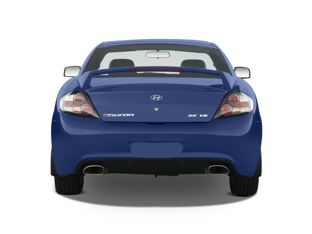 Hyundai Tiburon Door Coupe Auto Gt Limited Rear Exterior View L
