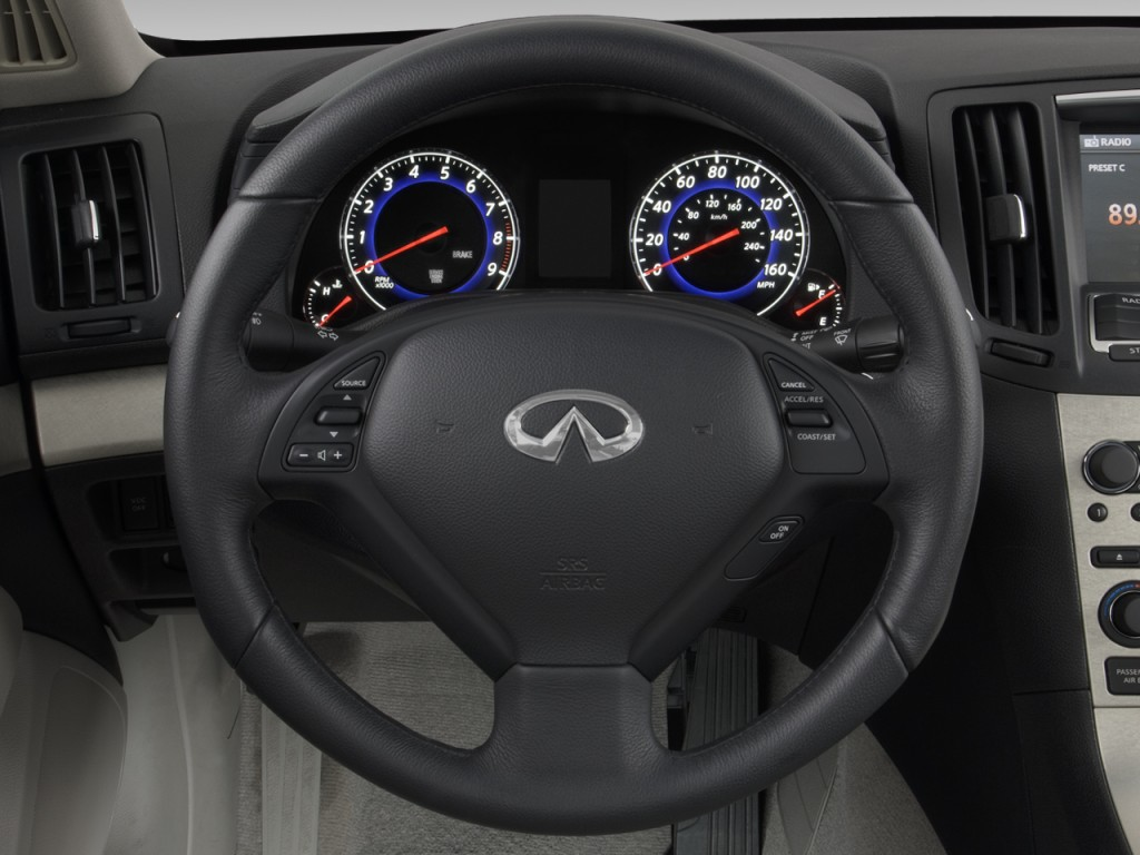 Used Infiniti Q60 >> Image: 2008 Infiniti G35 Sedan 4-door Base RWD Steering ...