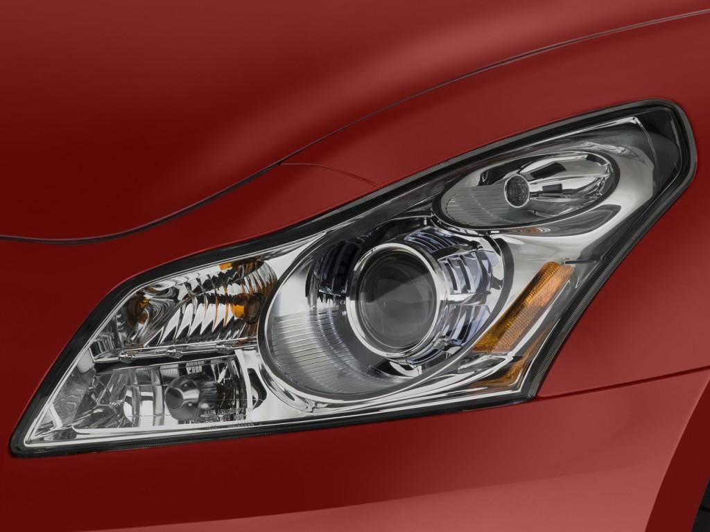 Image: 2008 Infiniti G35 Sedan 4-door Sport RWD Headlight ...
