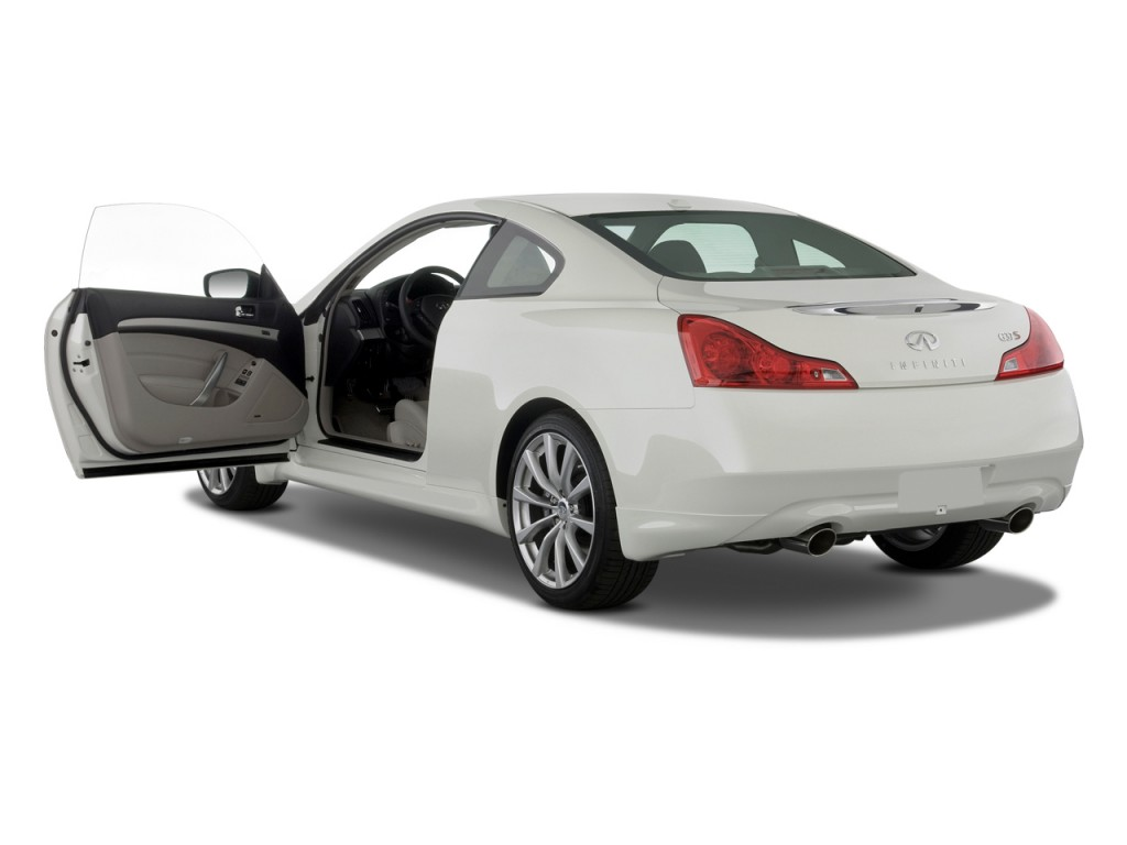 2008 Infiniti G37 Coupe 2 Door Sport Open Doors