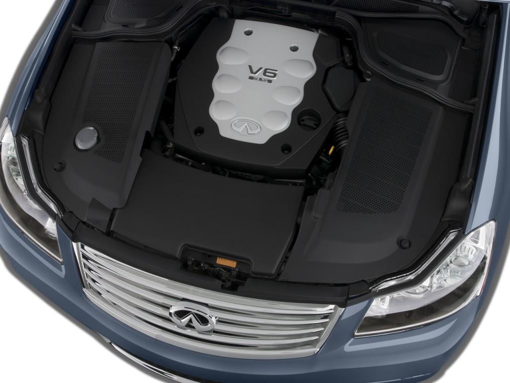 Image: 2008 Infiniti M35 4-door Sedan RWD Engine, size ...