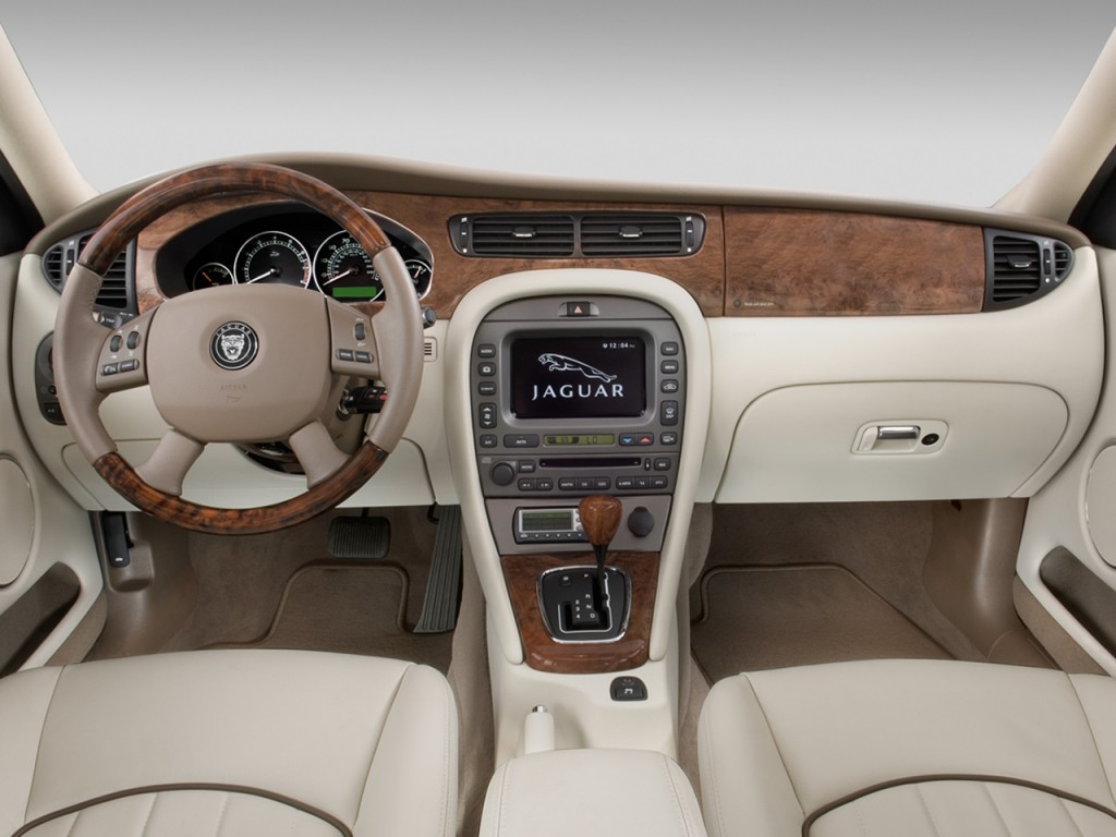 Image 2008 Jaguar X Type 4 Door Sedan Dashboard Size