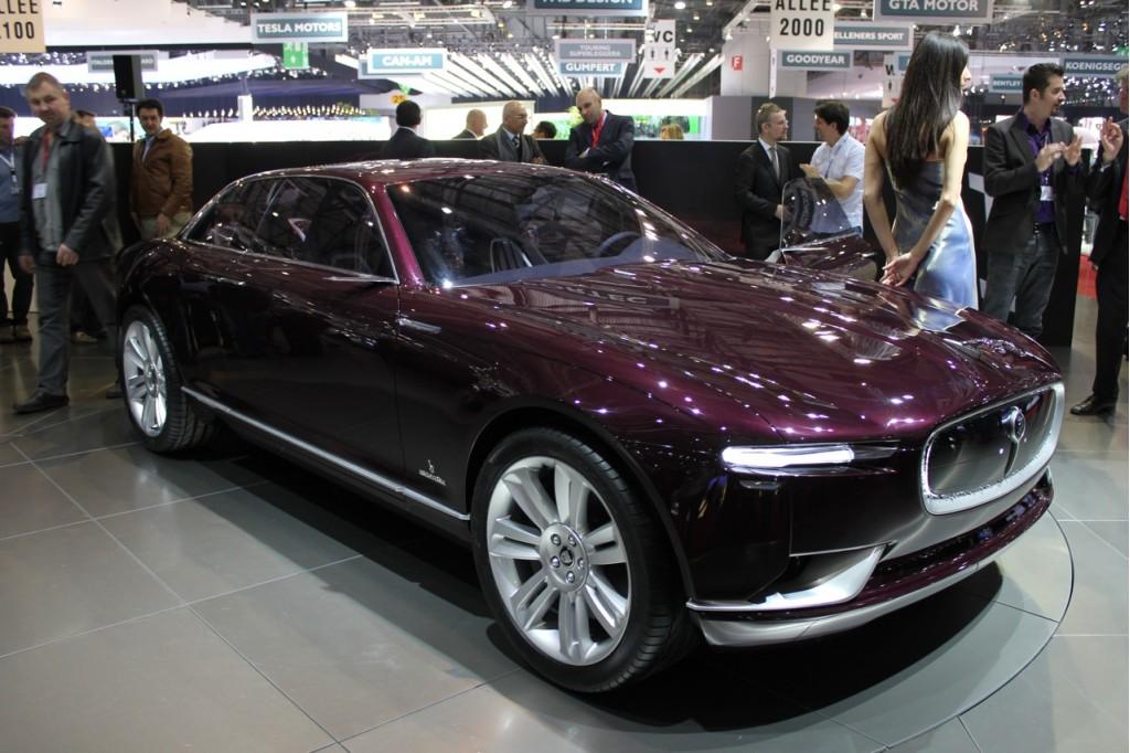 Jaguar Says Bertone B99 Concept Is Not For Us
