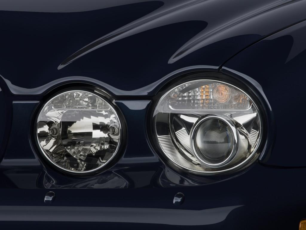 2008 Jaguar Xj8 For Sale >> Image: 2008 Jaguar XJ 4-door Sedan XJ8 L Headlight, size: 1024 x 768, type: gif, posted on ...