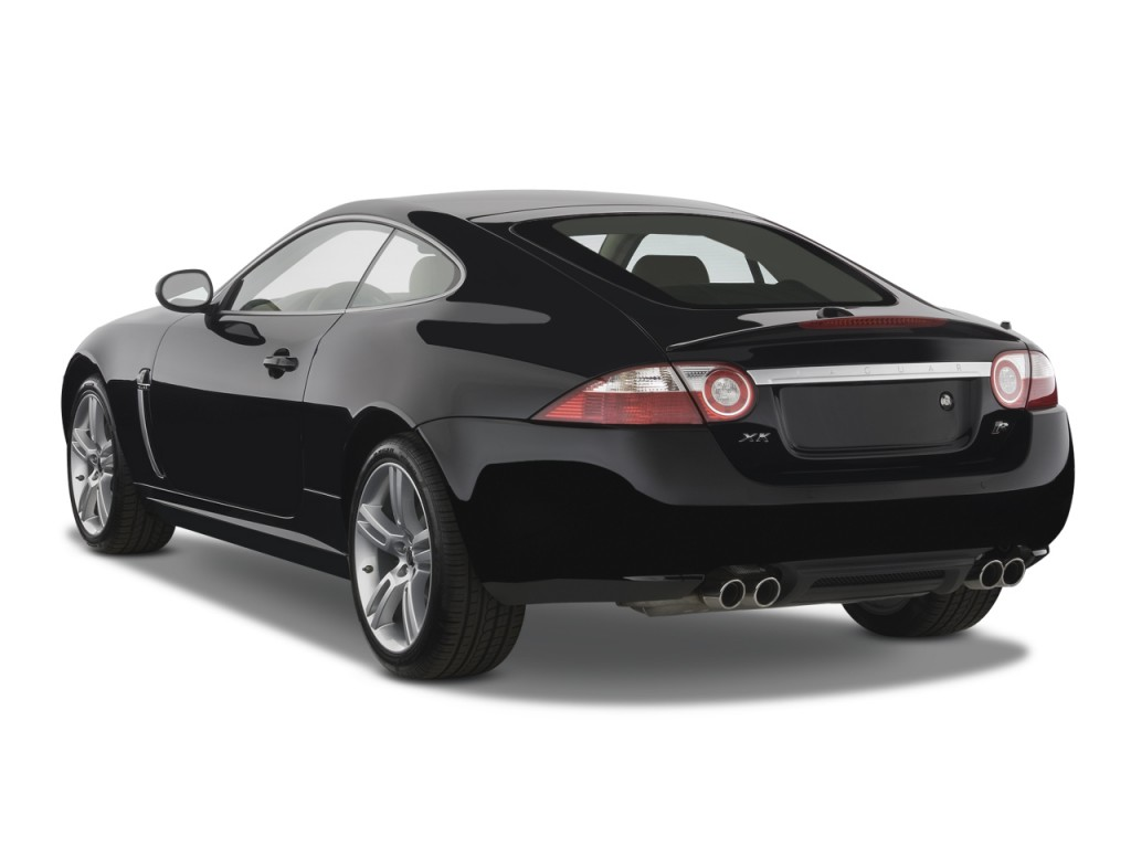 Image: 2008 Jaguar XK 2-door Coupe XKR Angular Rear ...
