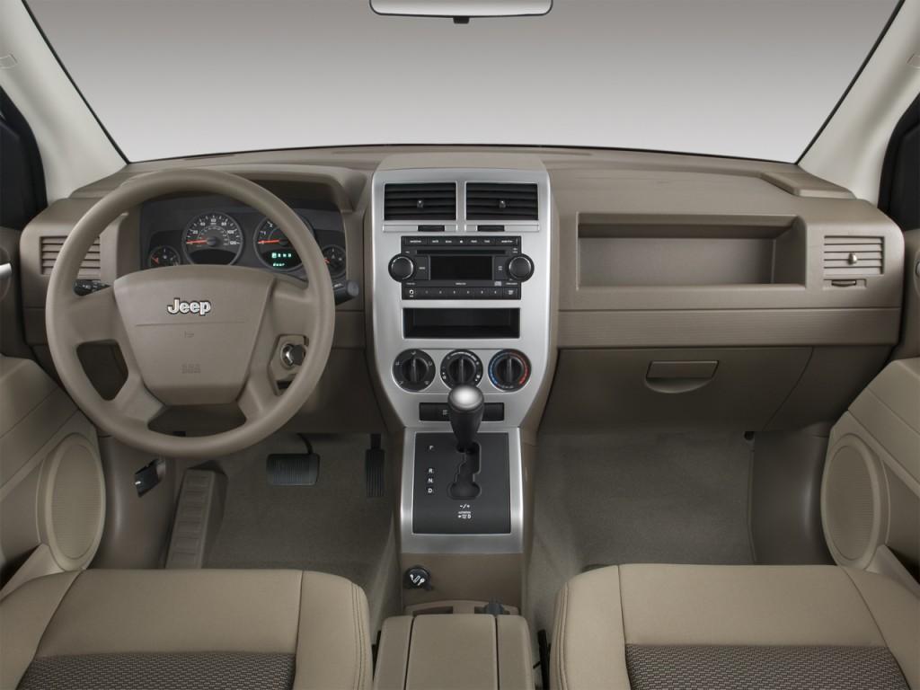 image 2008 jeep compass fwd 4 door sport dashboard size. Black Bedroom Furniture Sets. Home Design Ideas