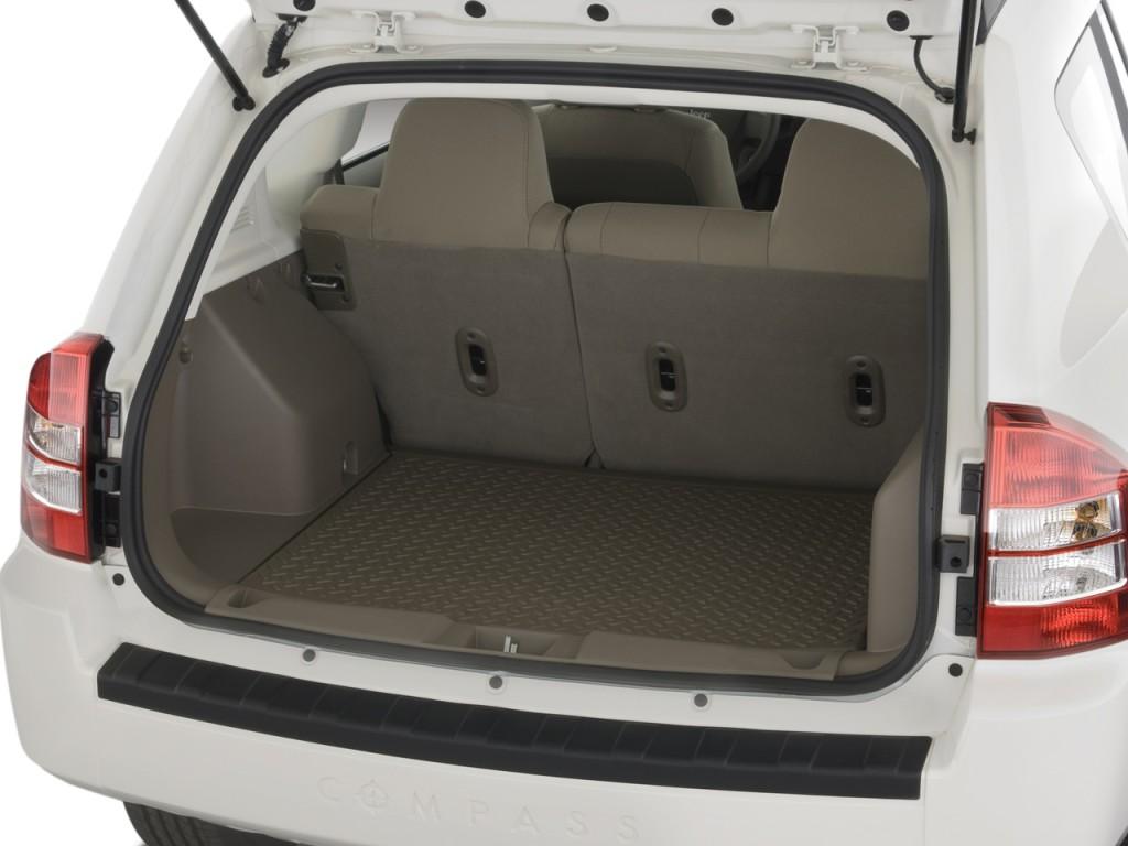image: 2008 jeep compass fwd 4-door sport trunk, size: 1024 x 768