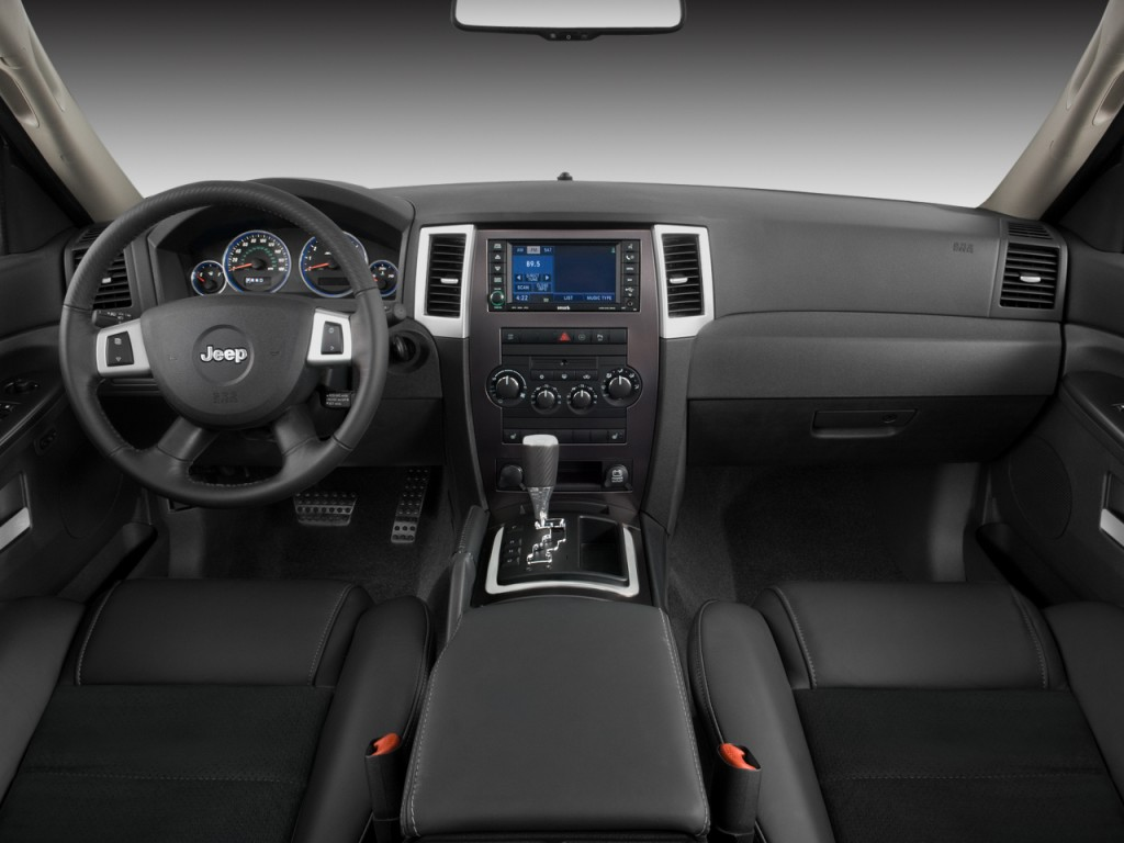 Jeep 2008 jeep grand cherokee interior : Image: 2008 Jeep Grand Cherokee 4WD 4-door SRT-8 Dashboard, size ...