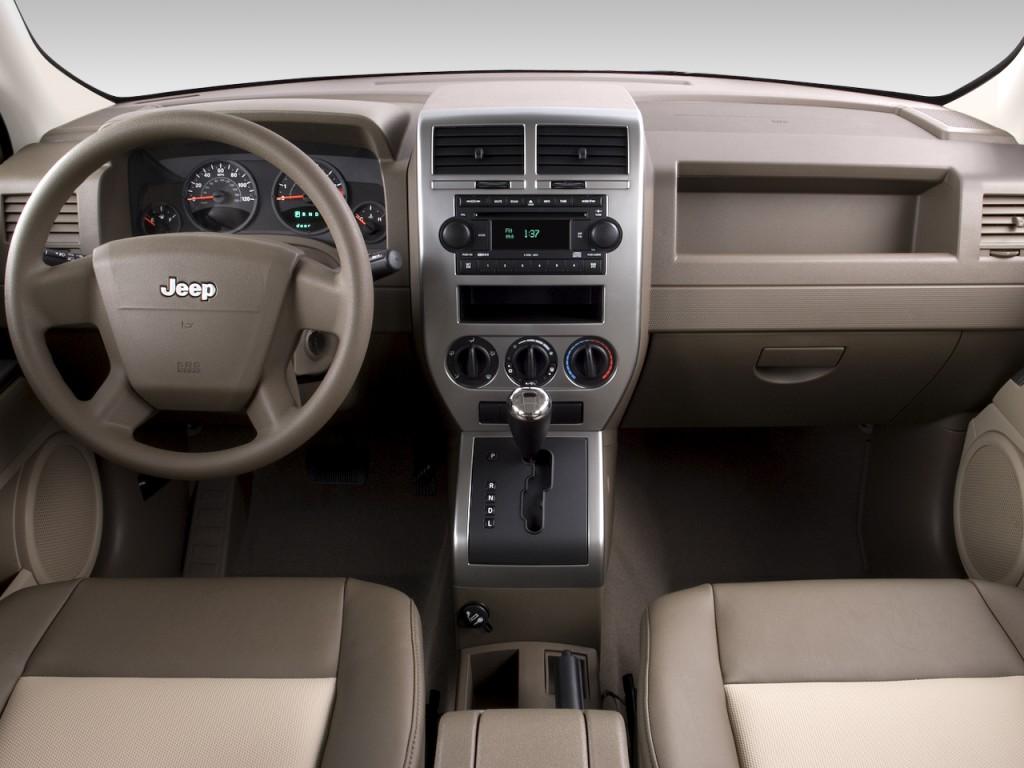 image: 2008 jeep patriot fwd 4-door sport dashboard, size: 1024 x