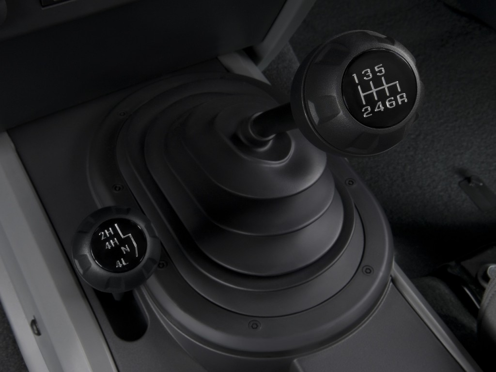 Image 2008 Jeep Wrangler 4wd 2 Door Rubicon Gear Shift