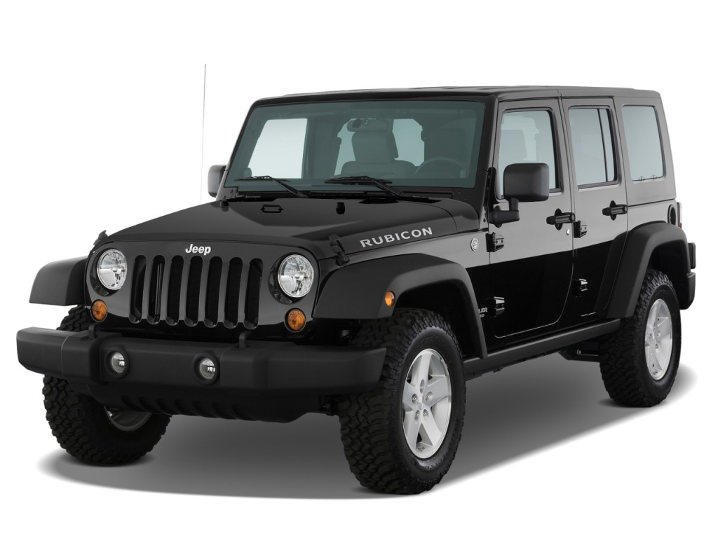 2008 Jeep Wrangler 4WD 4-door Unlimited Rubicon Angular Front Exterior View  sc 1 st  MotorAuthority & Image: 2008 Jeep Wrangler 4WD 4-door Unlimited Rubicon Angular Front ...