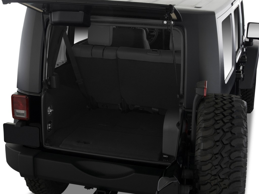 2008 Jeep Wrangler 4WD 4-door Unlimited Rubicon Trunk & Image: 2008 Jeep Wrangler 4WD 4-door Unlimited Rubicon Trunk size ...