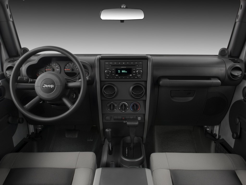 image: 2008 jeep wrangler 4wd 4-door unlimited x dashboard, size