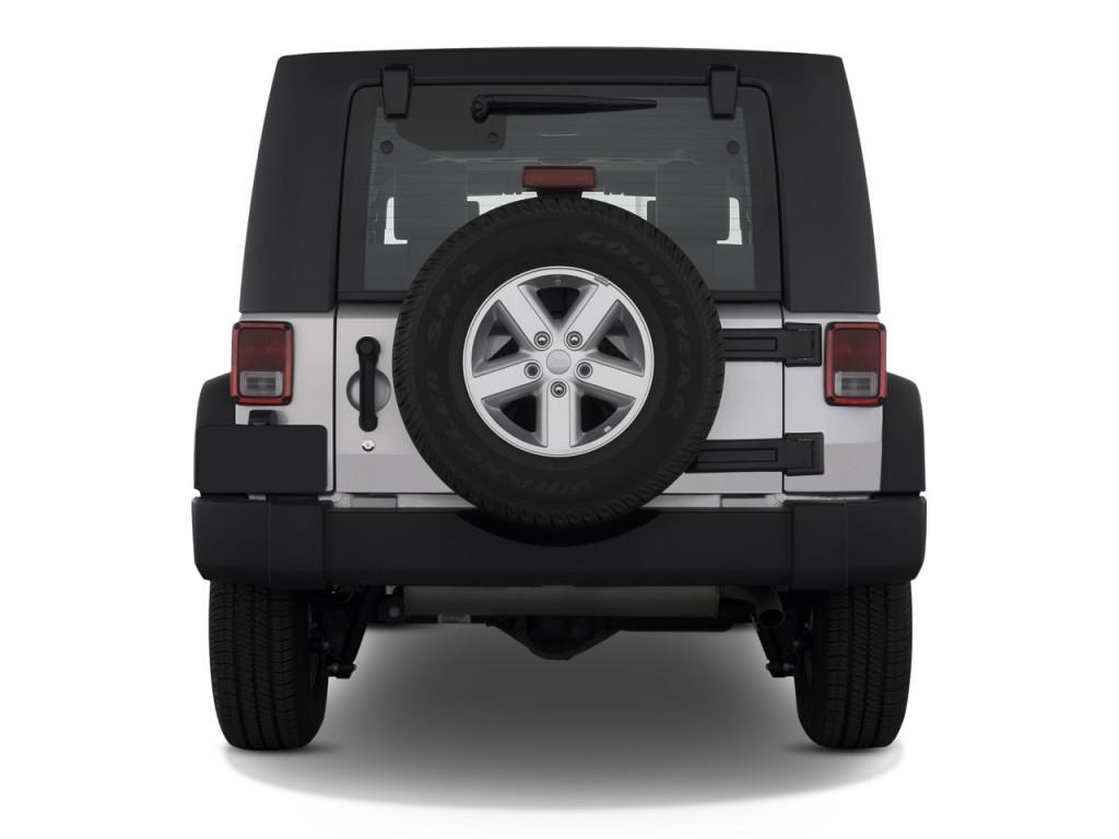 Image 2008 Jeep Wrangler 4wd 4 Door Unlimited X Rear