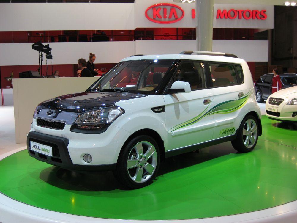 2008 Kia Soul Hybrid Concept