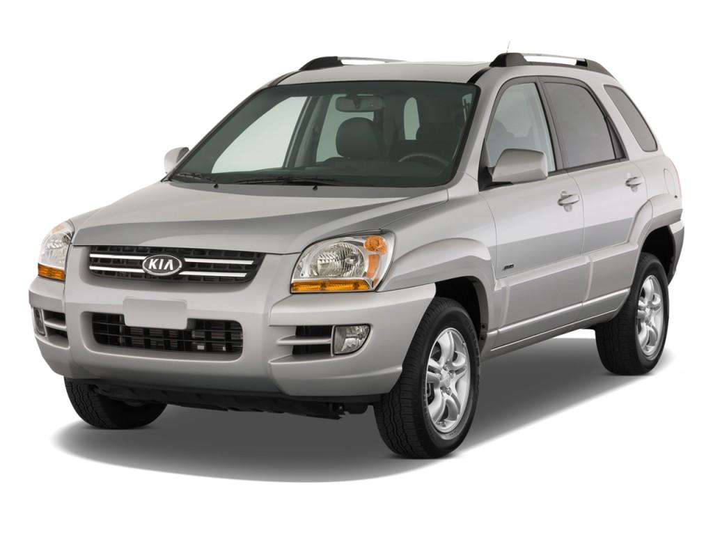 Image: 2008 Kia Sportage 2WD 4-door V6 Auto EX Angular ...