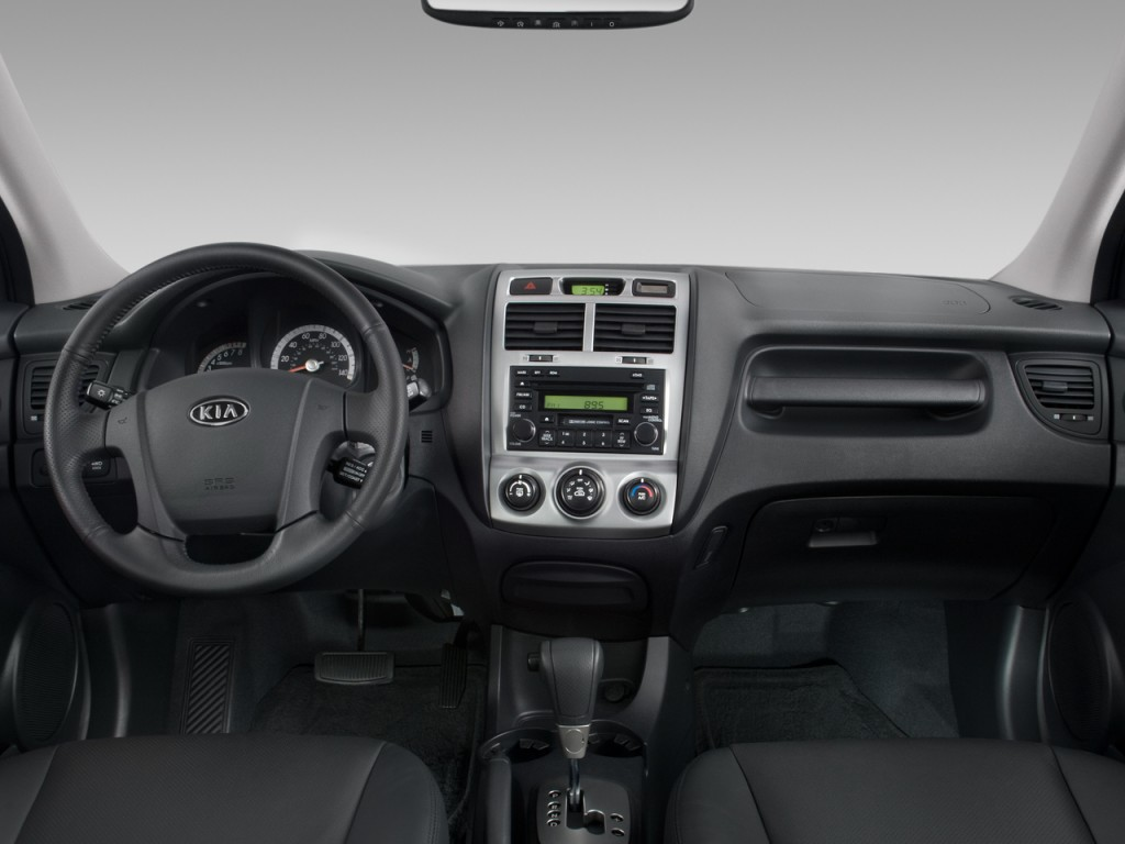 image 2008 kia sportage 2wd 4 door v6 auto ex dashboard. Black Bedroom Furniture Sets. Home Design Ideas