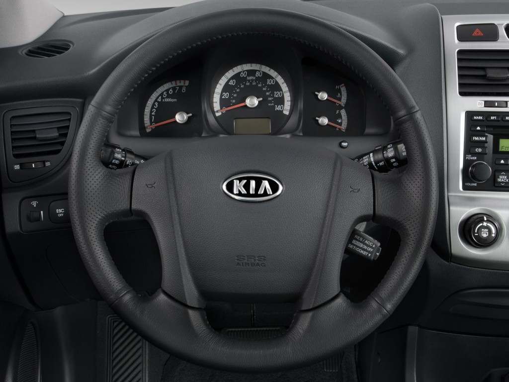 Image 2008 Kia Sportage 2wd 4 Door V6 Auto Ex Steering